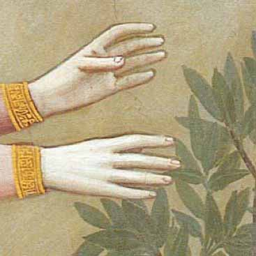 Giotto's Hands - by Penny McCarthy