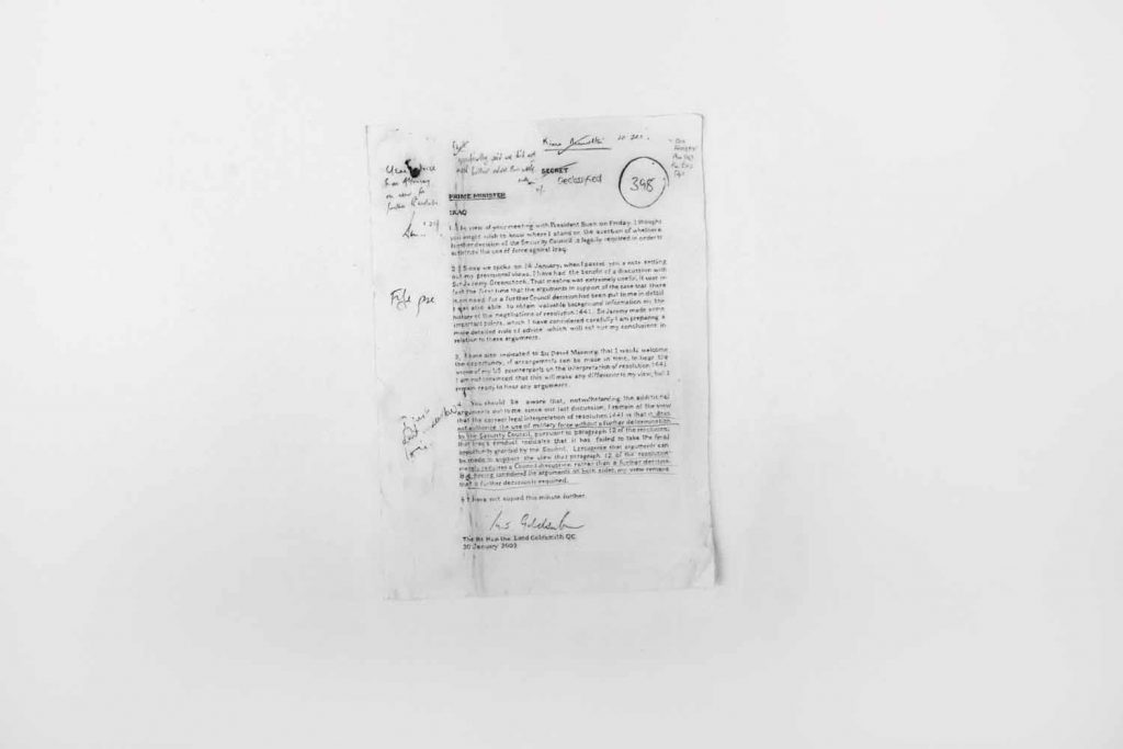Goldsmith Memo - drawing by Penny McCarthy
