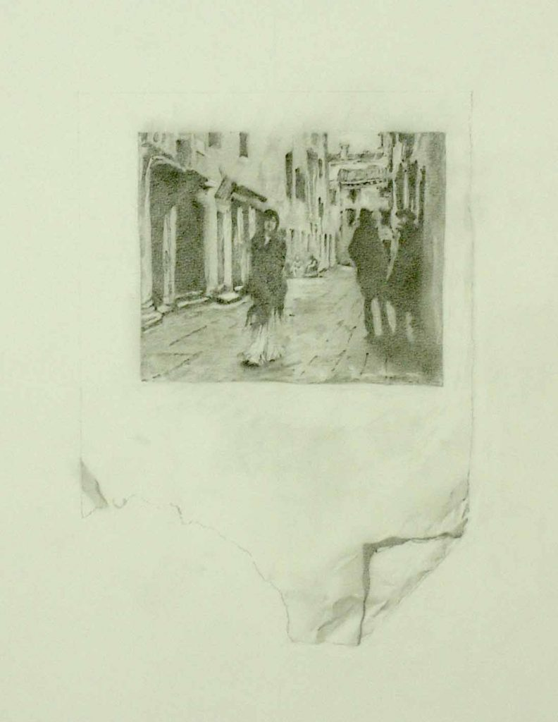 Venice - drawing by Penny McCarthy