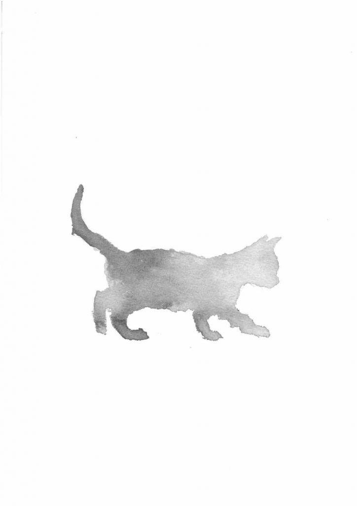 Inky Kitten by Penny McCarthy