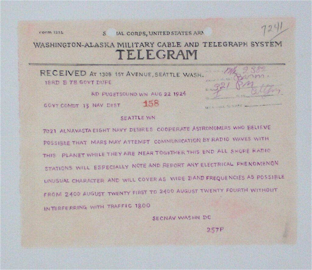 Mars Telegram  33 x 45 cm Pencil and paint on paper 2020